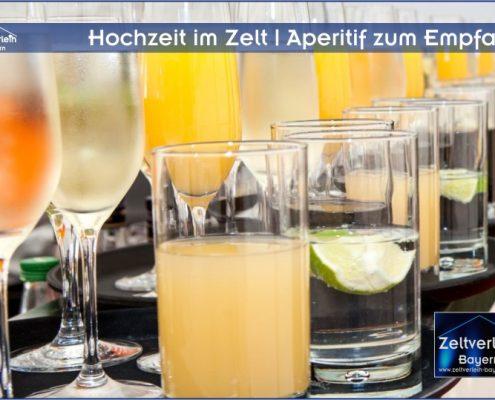 Hochzeit im Zelt von Zeltverleih Oberbayern
