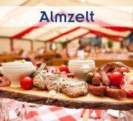 Almfest im Almzelt Oberbayern