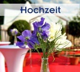 Hochzeit + Catering im Zelt von Zeltverleih Oberbayern