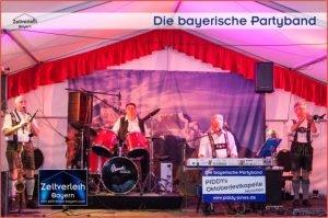 Die mobile Alm Almzelt von Zeltverleih Oberbayern