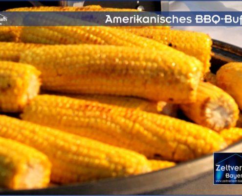 Amerikanisches BBQ Zeltverleih Oberbayern