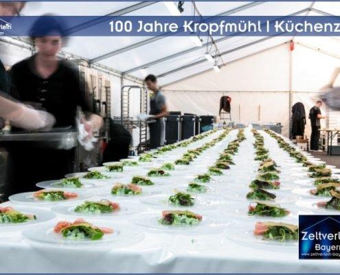 Gala 100 Jahre Kropfmühl Zeltverleih Oberbayern