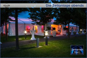VIP-Hochzeit im Zelt von Zeltverleih Oberbayern