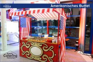 Amerikanisches Buffet Catering Oberbayern