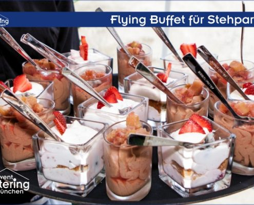 Flying Dessert Buffet von Caterng Oberbayern