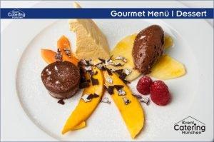 Gourmet Menü Dessert Catering Oberbayern